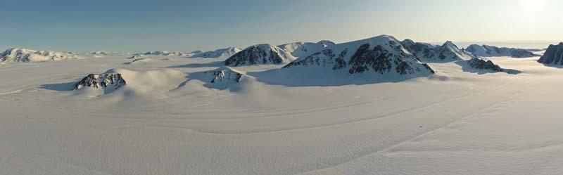 Camp 8 Panorama1 Trinity Glacier