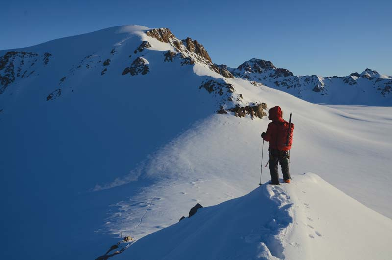 Dave Critchley above Camp 1
