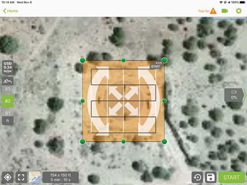 Pix4D Interface