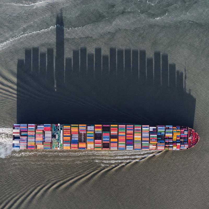 3 Abstract Aerial Art Scheldt River Delta Netherlands 1